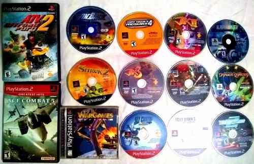 Lote De Juegos De Ps2 Ps1 Y Ps3 Originales 14 Juegos
