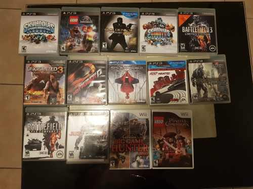 Lote De Juegos De Ps3 Y Wii