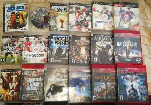 Lote De Juegos Para Ps3 Play Station 3 (leer Descripcion).