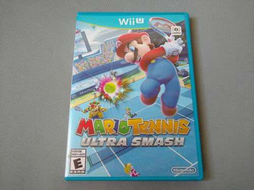 Mario Tennis Ultra Smash Original Para Nintendo Wii U