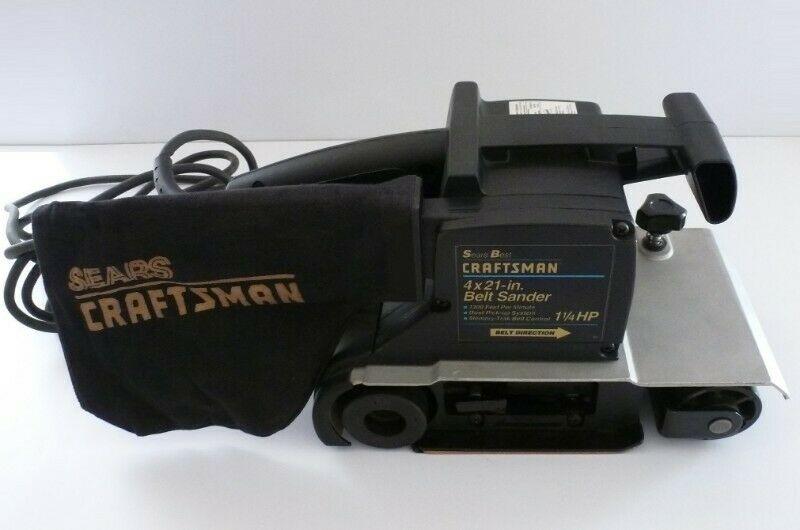 Máquina Lijadora de Banda Craftsman 900W
