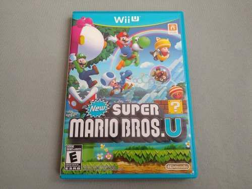New Super Mario Bros U Original Para Nintendo Wii U
