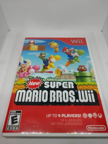 New Super Mario Bros Wii Y Wii U Coleccion Completa 2 Juegos
