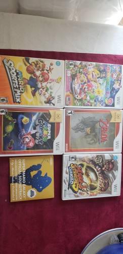 Paquete De 5 Juegos Para Nintendo Wii Compatibles Con Wii U