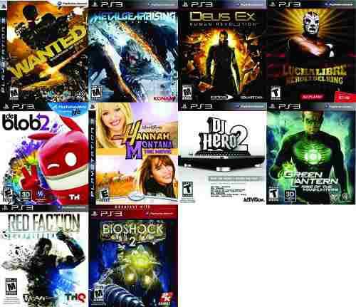 Promocion 2 Juegos Ps3 Nuevos Y Sellados + Envio Por $399