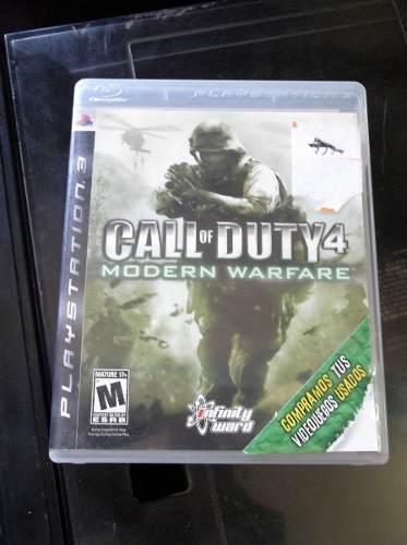 Ps3 Call Of Duty: Modern Warfare 3