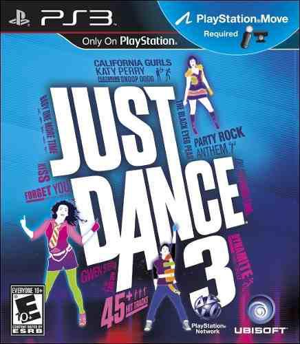 Ps3 - Just Dance 3 - Juego Fisico (mercado Pago)