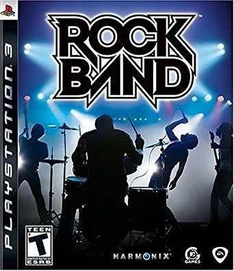 Rock Band + Guitarra De Juego Ps3