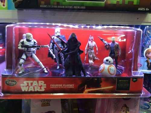 Set De Figuras De Star Wars The Force Awakens