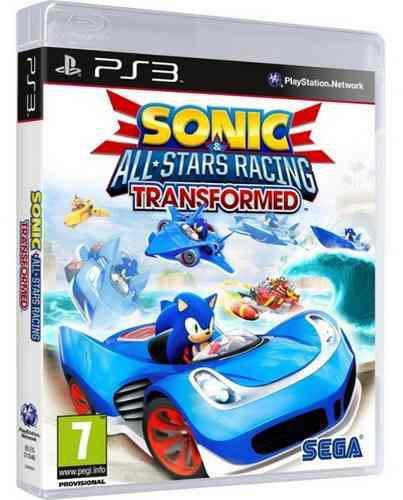 Sonic All Stars Racing Transformed Ps3 Nuevo Y Sellado Juego