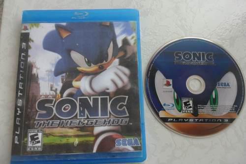 Sonic The Hedgehog Ps3 Portada Impresa Juegazo!!!