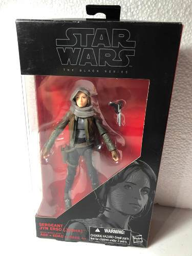 Star Wars The Black Series Rogue One Sergeant Jyn Erso #22