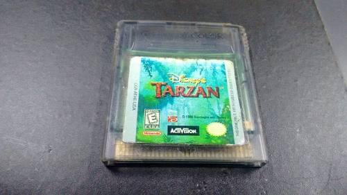 Tarzan Para Nintendo Game Boy,excelente Titulo