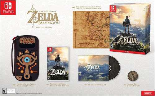 The Legend Of Zelda - Breath Of The Wild Edición Especial