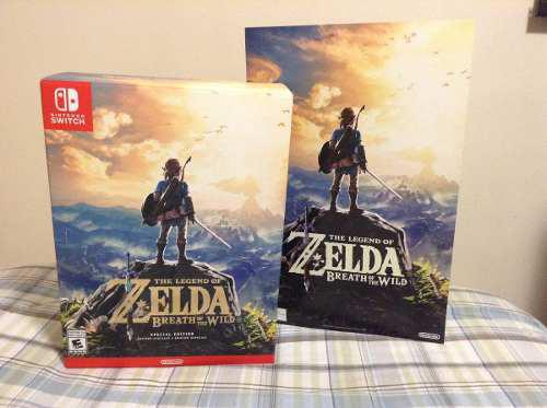 The Legend Of Zelda Breath Of The Wild Special Edition Nuevo