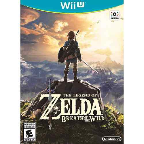 The Legend Of Zelda Breath Of The Wild Wii U - Nuevo