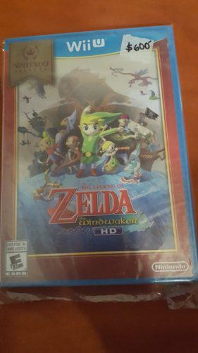 The Legend Of Zelda The Windwaker Wiiu Nuevo Envió Gratis!
