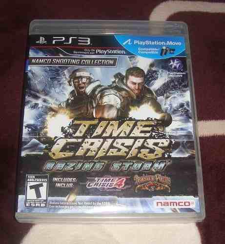 Time Crisis Razing Storm Para Ps3