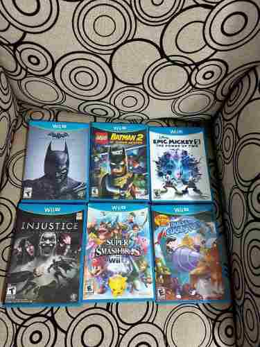 Vendo Juegos Para Wii U