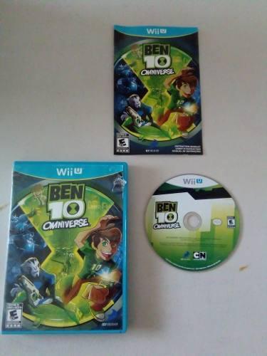 Video Juego Ben 10 Omniverse Para Nintendo Wii U