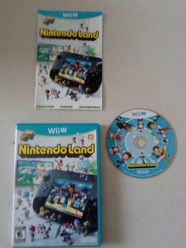 Video Juego Nintendo Land Para Nintendo Wii U