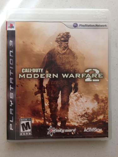 Videojuego Call Of Duty: Modern Warfare 2 Ps3