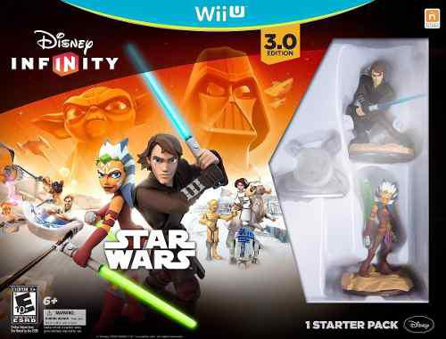 Videojuego Disney Infinity 3.0 Star Wars Para Wii U