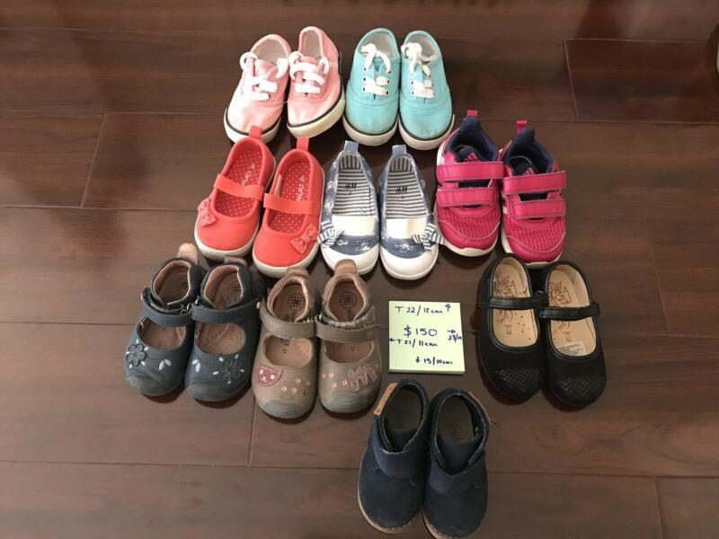 Zapatos de bebe usados en buen estado