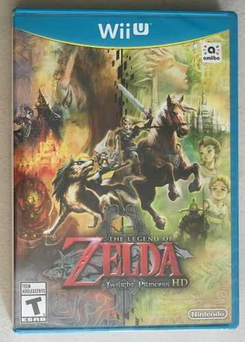 zelda - Twilight Princess Para Tu Colección De Wiiu!
