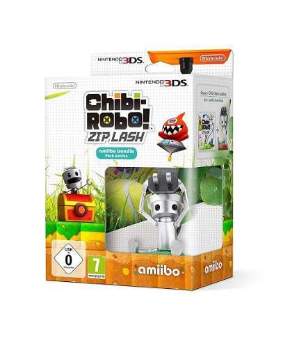 Chibi Robo Zip Lash Con Amiibo (en D3 Gamers)