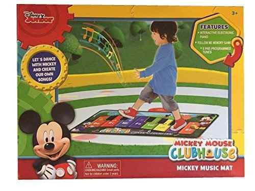 Colchonetas De Baile,juguete Disney Junior Mickey Mouse..