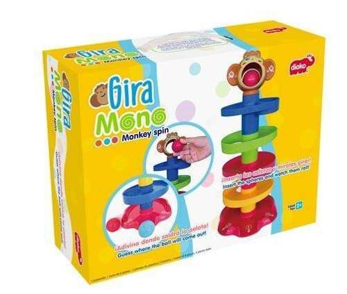 Gira Mono Juego Bebé Estimulación Temprana Biyú