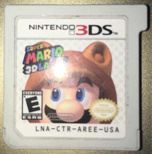 Juego Fisico Super Mario 3d Land Envió Gratis Nintendo 3ds