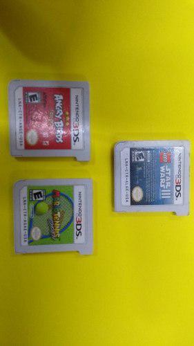 Juegos Para 3ds,angrybirds,starwars 3 Lego,mario Tennis.