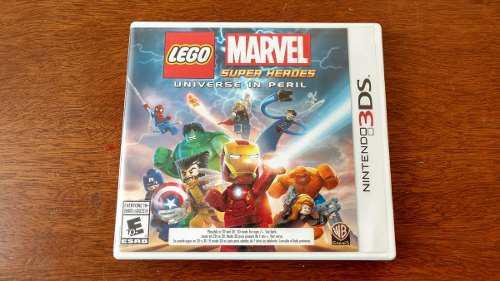 Lego Marvel Super Heroes Nintendo 3ds Xl Envío