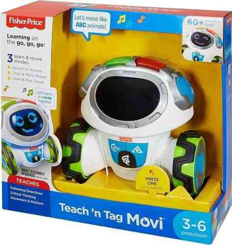 Movi Dice Robot Interactivo Fisher Price