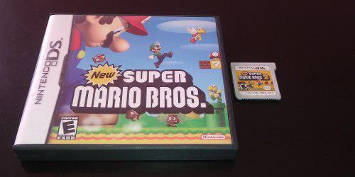 New Super Mario Bros 1 Y 2 Para Nintendo 3ds, 2ds, Ds, Dsi