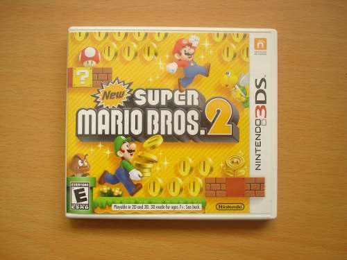 New Super Mario Bros 2 Nintendo 3ds Completo - Rtg +++++