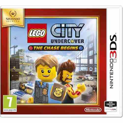 Nintendo 3ds Lego City Undercover The Chase Begins.