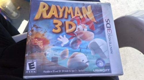 Nintendo 3ds Video Juego Rayman 3ds Nuevo Sellado Con Envío