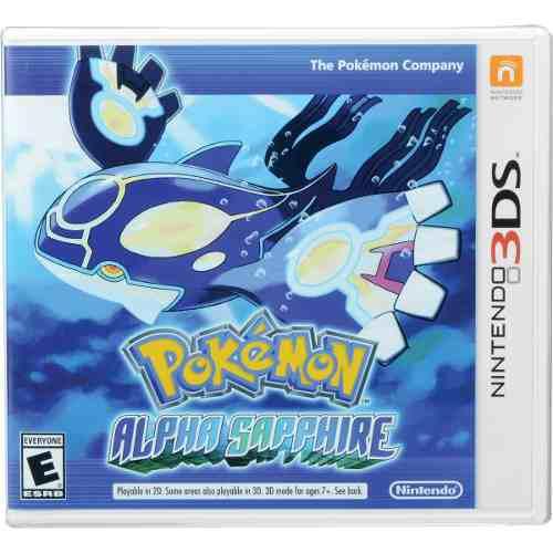 Nintendo Ctr-p-ecle Sw 3ds Pokemon Alpha Sapphire.