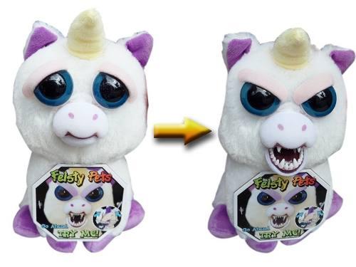 Peluche Unicornio Feisty Pet Original Enojon Juguete Mascota