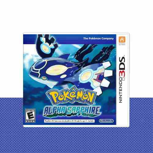 Pokemon Alpha Sapphire Original Nintendo 3ds | Mod Games