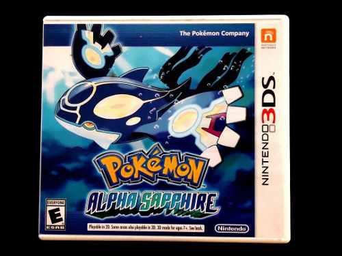 Pokemon Alpha Sapphire Para Nintendo 3ds !!!