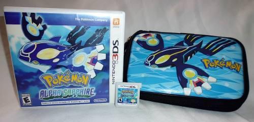 Pokemon Alpha Sapphire Para Nintendo 3ds Y 2ds + Estuche