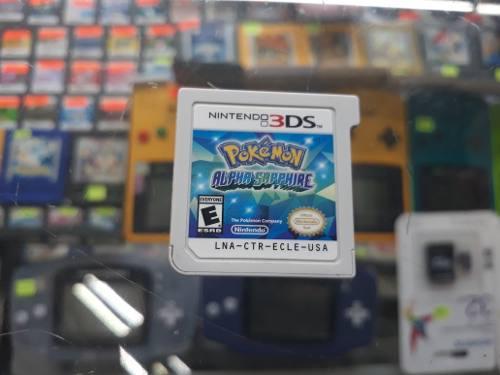 Pokemon Aplha Sapphire Para Nintendo 3ds (Envio Gratis)