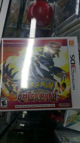 Pokemon Omega Ruby Nintendo 3 Ds
