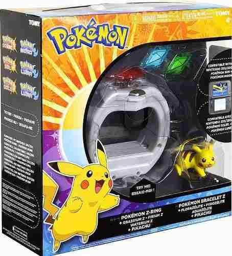 Pokemon Sol Luna Sun Moon Z Ring Luces Vibracion Y Sonidos