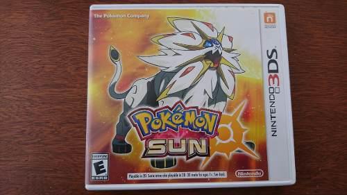 Pokemon Sun Nintendo 3ds Xl Envío