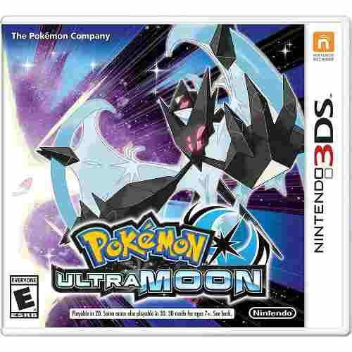 Pokemon Ultra Moon Nintendo 3ds 2ds Ultraluna Nuevo + Regalo